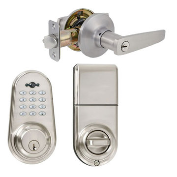 Delaney Privex Sk500 Digital Entry Lock Lever Set - Milton Lever