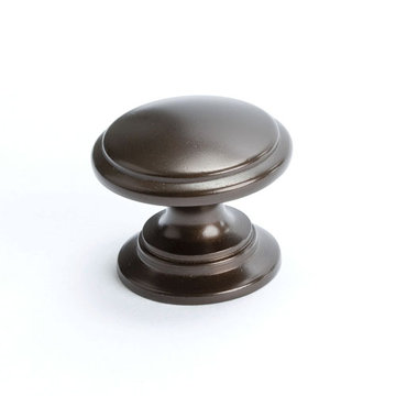Berenson Adagio Round Cabinet Knob With Large Base