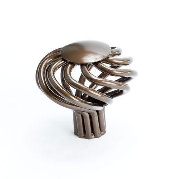 Berenson Adagio Round Twist Cabinet Knob