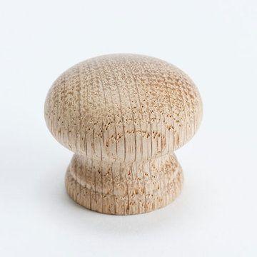 Berenson Appalachia Round Oak Cabinet Knob