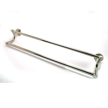 Berenson Manhattan 24 Inch Double Towel Bar