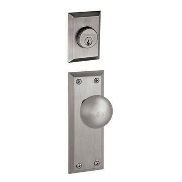 Grandeur Fifth Avenue Double Cylinder Interior Half Only With Fifth Avenue Knob