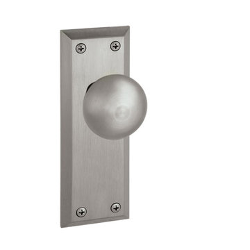 Grandeur Fifth Avenue Double Dummy Interior Door Set With Fifth Avenue Knob