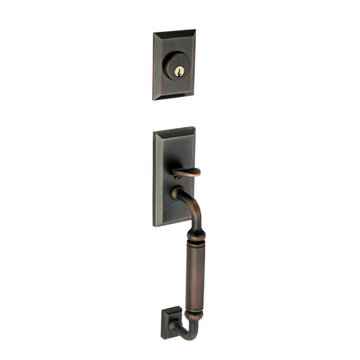 Grandeur Fifth Avenue Dummy C-Grip Exterior Handle Only