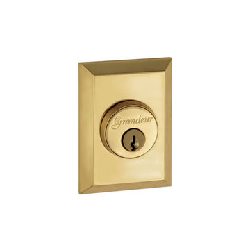 Grandeur Fifth Avenue Single Cylinder Deadbolt - Keyed Differently