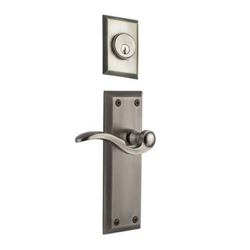 Grandeur Fifth Avenue Single Dummy Bellagio Lever Door Set