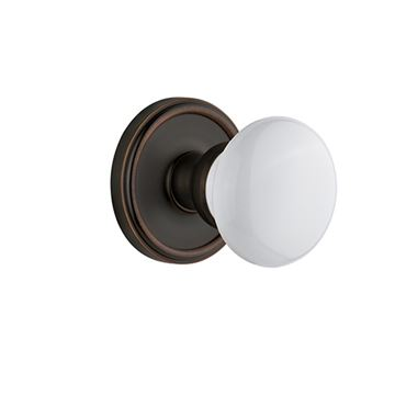 Grandeur Georgetown Passage Interior Door Set with Hyde Park Knob
