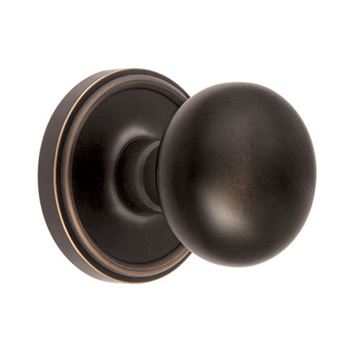 Grandeur Georgetown Privacy Interior Door Set with Fifth Avenue Knob
