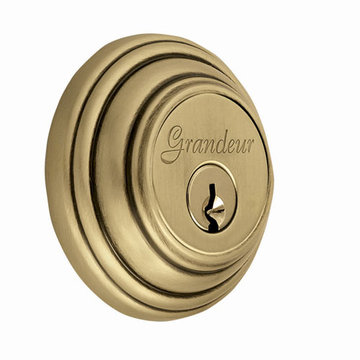 Grandeur Georgetown Single Cylinder Deadbolt - Keyed Differently