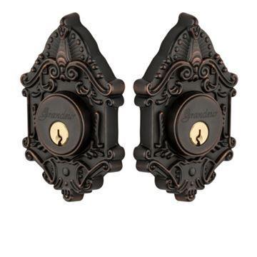 Grandeur Grande Victorian Double Cylinder Deadbolt - Keyed Alike