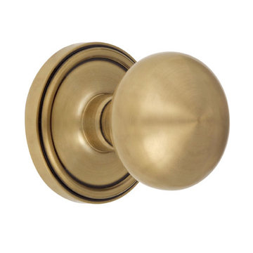 Grandeur Grande Victorian Double Dummy Interior Door Set With Fifth Avenue Knob