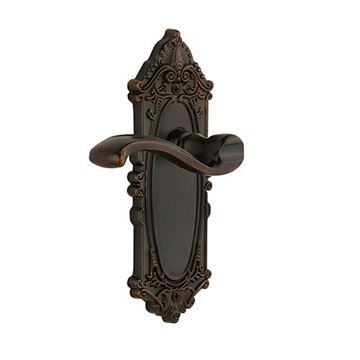 Grandeur Grande Victorian Double Dummy Interior Door Set With Portofino Lever