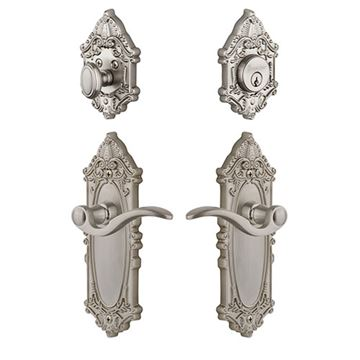 Grandeur Grande Victorian Bellagio Lever Entry Set - Keyed Differently