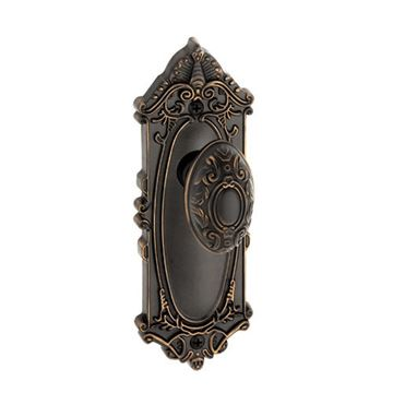 Grandeur Grande Victorian Passage Interior Door Set With Grande Victorian Knob