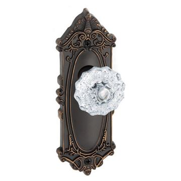 Grandeur Grande Victorian Privacy Fontainebleau Crystal Door Set