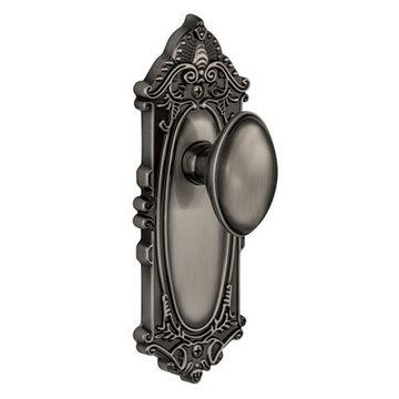 Grandeur Grande Victorian Privacy Eden Prairie Knob Door Set
