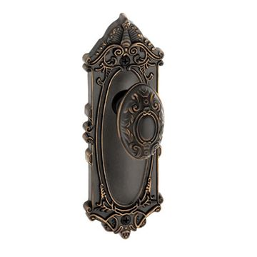 Grandeur Grande Victorian Privacy Interior Door Set With Grande Victorian Knob