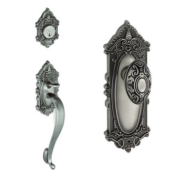 Grandeur Grande Victorian S-Grip Thumblatch To Grande Victorian Knob Entry Set