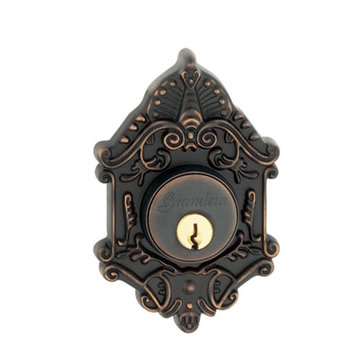 Grandeur Grande Victorian Single Cylinder Deadbolt - Keyed Alike