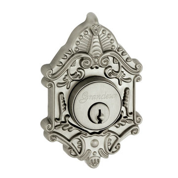 Grandeur Grande Victorian Single Cylinder Deadbolt - Keyed Differently