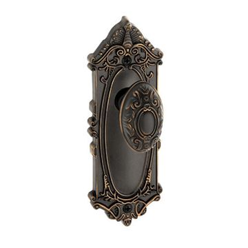 Grandeur Grande Victorian Single Dummy Interior Door Set With Grande Victorian Knob