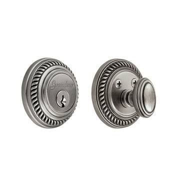 Grandeur Newport Double Cylinder Deadbolt - Keyed Differently
