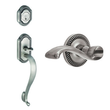 Grandeur Newport S-Grip Thumblatch To Portofino Lever Entry Set