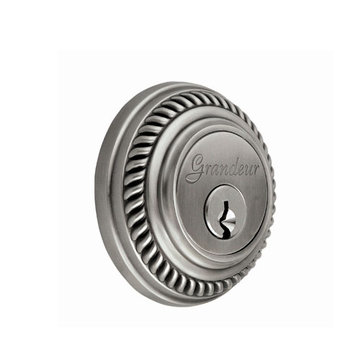 Grandeur Newport Single Cylinder Deadbolt - Keyed Alike