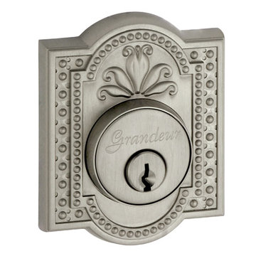 Grandeur Parthenon Double Cylinder Deadbolt - Keyed Alike