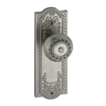 Grandeur Parthenon Privacy Interior Door Set With Parthenon Knob