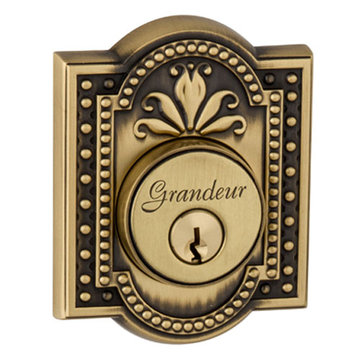 Grandeur Parthenon Single Cylinder Deadbolt - Keyed Alike