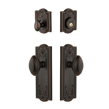 Grandeur Parthenon Single Cylinder Eden Prairie Entry Set - Keyed Differently