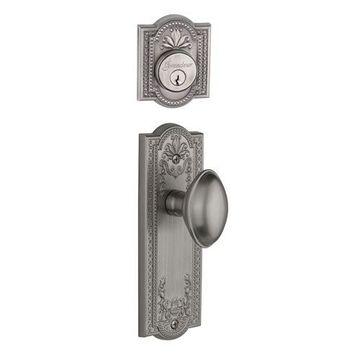 Grandeur Parthenon Single Dummy Eden Prairie Knob Door Set
