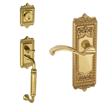Grandeur Windsor C-Grip Thumblatch To Portofino Lever Entry Set