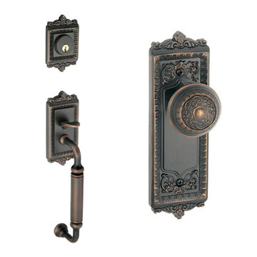 Grandeur Windsor C-Grip Thumblatch to Windsor Knob Entry Set