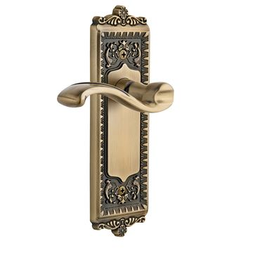 Grandeur Windsor Passage Interior Door Set with Portofino Lever