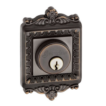 Grandeur Windsor Single Cylinder Deadbolt - Keyed Alike