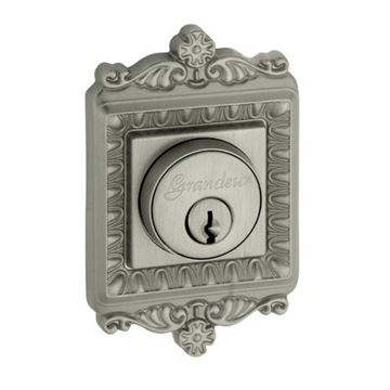 Grandeur Windsor Single Cylinder Deadbolt - Keyed Differently