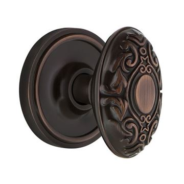 Nostalgic Warehouse Classic Privacy Interior Door Set With Victorian Knob