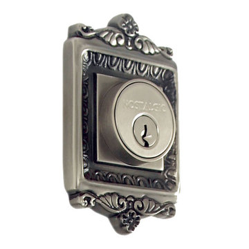 Nostalgic Warehouse Egg & Dart Single Cylinder Deadbolt - Keyed Differently
