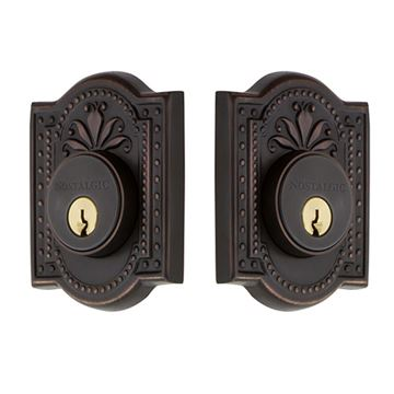 Nostalgic Warehouse Meadows Double Cylinder Deadbolt - Keyed Alike