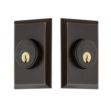 Nostalgic Warehouse New York Double Cylinder Deadbolt - Keyed Differently