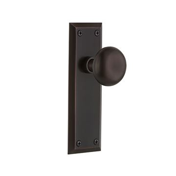Nostalgic Warehouse New York Double Dummy Interior Door Set With New York Knob - No Keyhole