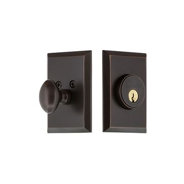 Nostalgic Warehouse New York Single Cylinder Deadbolt - Keyed Differently