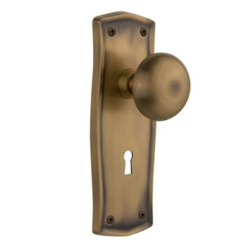 Nostalgic Warehouse Prairie Privacy Interior Door Set With New York Knob