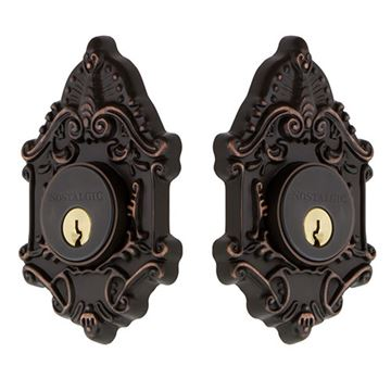 Nostalgic Warehouse Victorian Double Cylinder Deadbolt - Keyed Differently