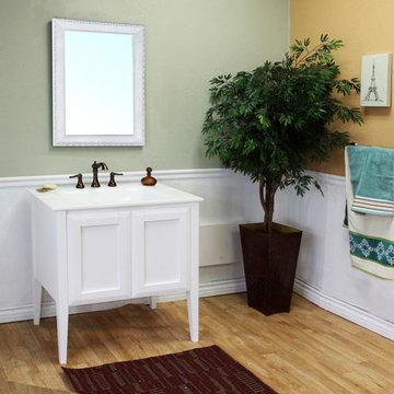 Bellaterra Home Coastal Single Sink Vanity