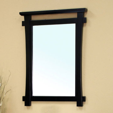 Bellaterra Home Eastern Wood Frame Mirror