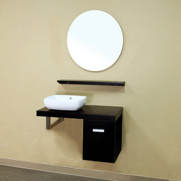 Bellaterra Home Floating Single Sink Vanity