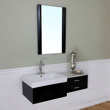 Bellaterra Home Modern Floating Single Sink Vanity